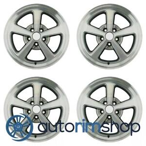 Ford Mustang 2003 2004 17 Factory Oem Wheels Rims Set 3r331007ab