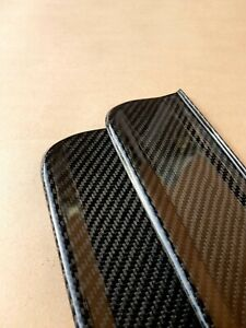 Real Carbon Fiber Bmw E36 Coupe Convertible Set Of Door Sill Plates