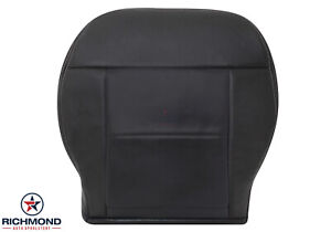 2010 2016 Mercedes Benz E class Driver Side Bottom Leather Seat Cover Black
