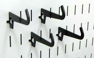 Wall Control Pegboard 3 1 2in Reach Curved Tip Slotted Hook Pack Slotted Metal