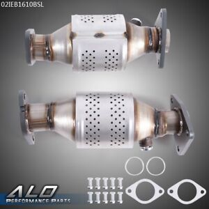 2pcs Front Catalytic Converter For 05 18 Nissan Pathfinder Xterra Frontier 4 0l