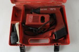 Hilti Tcd 12 Cordless Drill With Charger And Two Batteries Keyless 12 Volt