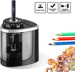 Automatic Electric Pencil Sharpener For Kids Battery Operated Home School Office
