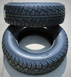 2 New Forceum Atz Lt 235 75r15 Load E 10 Ply At A t All Terrain Tires