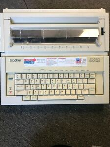 Brother Electronic Typewriter Ax 250