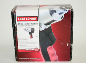 New Craftsman 1 2 Drive Air Impact Wrench 16882