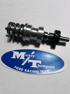 Rare Mickey Thompson Cross Ram Intake Ford Fe Distributor Adapter 360 390 427