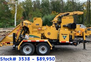 2 Vermeer Bc2100xl Wood Chippers For Sale