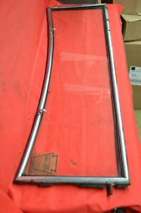 1930 31 Ford Roadster Phaeton Windshield Frame Window Glass 1935 Pa Insp Model A