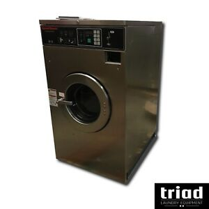06 Speed Queen 20lb Coin Commercial Washer 3ph Laundromat Huebsch Unimac Ipso