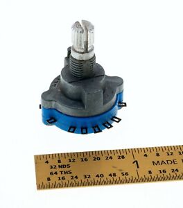 Alps 205t 1 wafer 3 pole 2 position Rotary Switch Made In Japan Nos