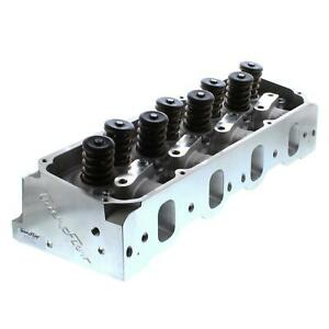 Trickflow Cylinder Head Sbf 351c m 400 195cc Intake 72cc Chambers 1 550 Valves