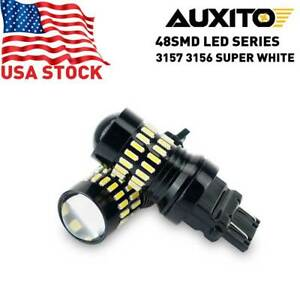 Auxito 3157 Led Backup Reverse Light Bulb White For Chevy Silverado 1500 99 2013