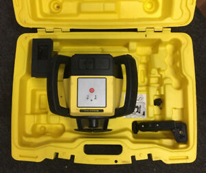 Leica Rugby610 Self Levling Rotatory Laser With Alkaline Battery Pack