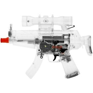 MINI FULL AUTO ELECTRIC AIRSOFT CLEAR GUN AEG AUTOMATIC PISTOL RIFLE 6mm BB BBs $33.95