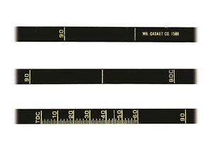 Engine Timing Tape Precision Timing Tape Mr Gasket 1588