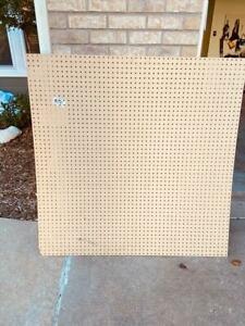 Brand New Peg Board 48 X 48 X 3 16 Never Used Local Pick Up Only