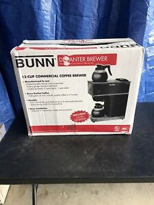 Restaurant Coffee Maker Commercial Automatic Bunn Brewer Warmers 2 Pots Store