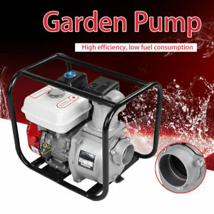 3in Petrol Gasoline Water Transfer Pump 7m Garden Irrigation Swimming Pool Safe