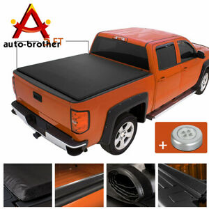 5 Bed Rugged Liner Soft Roll Up Tonneau Cover For Nissan 2005 2020 Frontier