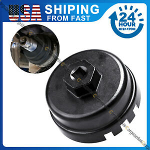 14 Flutes Oil Filter Wrench Cap Housing Tool For Toyota Corolla rav4 camry 4 Cyl