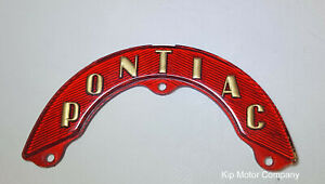 1953 Pontiac Chieftain Trunk Handle Ornament New Production