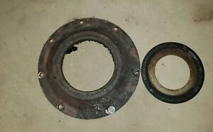 Farmall F20 Tractor Engine Rear Crankshaft Seal Retainer Plate Spacer