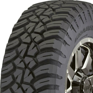 2 New Lt255 75r17 C General Grabber X3 Mud Terrain 255 75 17 Tires