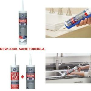 Silicone 1 Sealant 10 1 Ounce Tub Tile Clear Waterproof