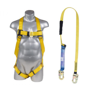 Harness Kit Combo With 6 Ft Lanyard