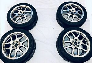 Ford Mustang Shelby Gt500 2007 18 Oem Svt Rims With Goodyear Eagle F1 Tires