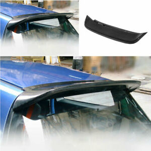 For Honda Civic 5th Eg 1992 1995 Spoon Rear Boot Spoiler Wing Flap Carbon Fiber