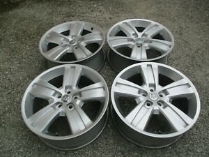 2010 2012 Dodge Nitro jeep Liberty 20 Aluminum Wheel Rims Set Of 4 Silver Oem F