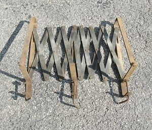 Antique Expandable Running Board Luggage Rack