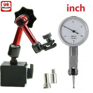 Universal Flexible Magnetic Metal Base Holder Stand Dial Test Indicator Tool Usa