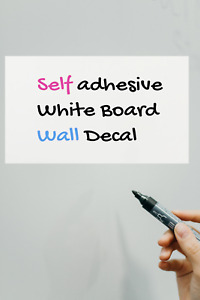 Dry Erase Self adhesive Whiteboard Sticker Wall Decal For School office 3 pack