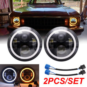 Fit For Chevrolet Chevy Nova 1963 1978 280w 7 Inch Round Led Headlight Pair