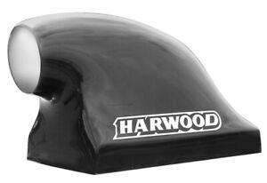 Harwood 16 1 2 In Tall Black Fiberglass Dragster Scoop Hood Scoop P N 3155