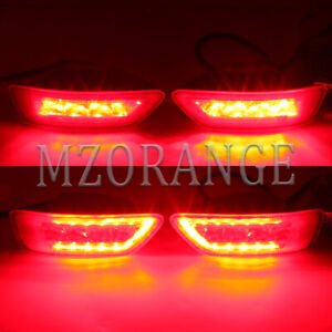 Led Rear Bumper Fog Light For Jeep Grand Cherokee Wk2 2011 2012 13 2018 Compass