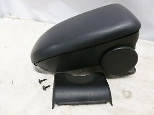 00 07 Ford Focus Front Center Console Armrest Arm Rest Black