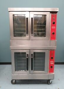 Vulcan Double Deck Convection Oven Gas Fired Vc6gd