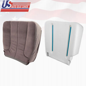 2003 2004 2005 Dodge Ram Sport Driver Bottom Fabric Cover And Foam Cushion Tan