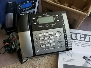 Rca 25424re1 4 Line Expandable Business Speakerphone Works Perfect Usa Seller