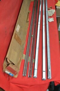 Nos 1971 76 Plymouth Satellite Station Wagon Roof Rack Skid Strips Dodge Coronet