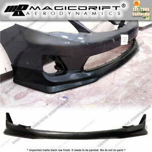 For 11 13 Toyota Corolla Tr D Style Front Bumper Lip Chin Spoiler Body Kit