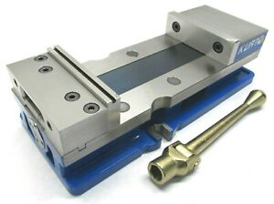 Clean Kurt Anglock Crossover 6 Milling Machine Vise W Jaws Handle dx6