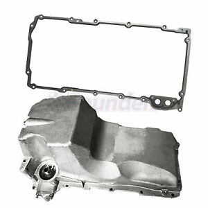 Engine Oil Pan W Gasket For Chevrolet Express 15 25 3500 Tahoe 2000 Gmc Yukon