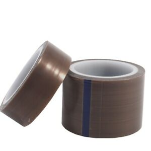 Us Pure Skived Ptfe Film Tape Silicone Adhesive Heat Resistant Insulation Tape