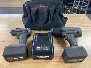 Snap On Ct8850gm 1 2 Impact Wrench Snap On Ct8810bgm 3 8 Cordless Drill Set
