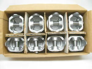 Engine Piston Set Of Eight Tc2001 040 For Various 75 84 Ford 351m 5 8l